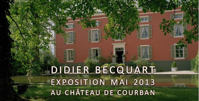 exposition au chateau de courban tout le mois de mai 2013 sculpteur didier becquart. Black Bedroom Furniture Sets. Home Design Ideas