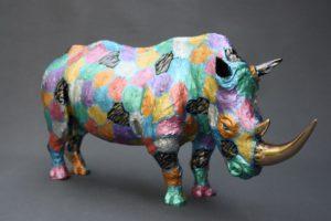Nouvelle patine pour le Rhinocéros