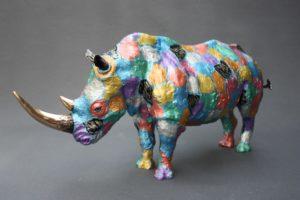 Nouvelle patine pour le Rhinocéros 2